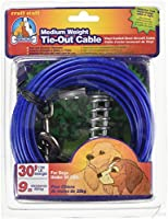 Dog Life Medium Weight Tie-Out Cable - 30 Foot by Dog Life