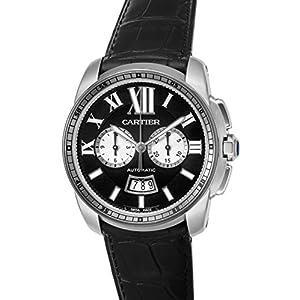 [Cartier]カルティエ 腕時計 CALIBRE ブラック文字盤 W7100060 メンズ 【並行輸入品】