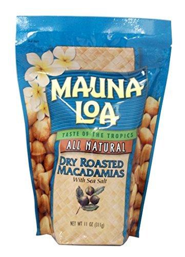 マウナロア 塩味 マカデミアナッツ Lサイズ 283g
