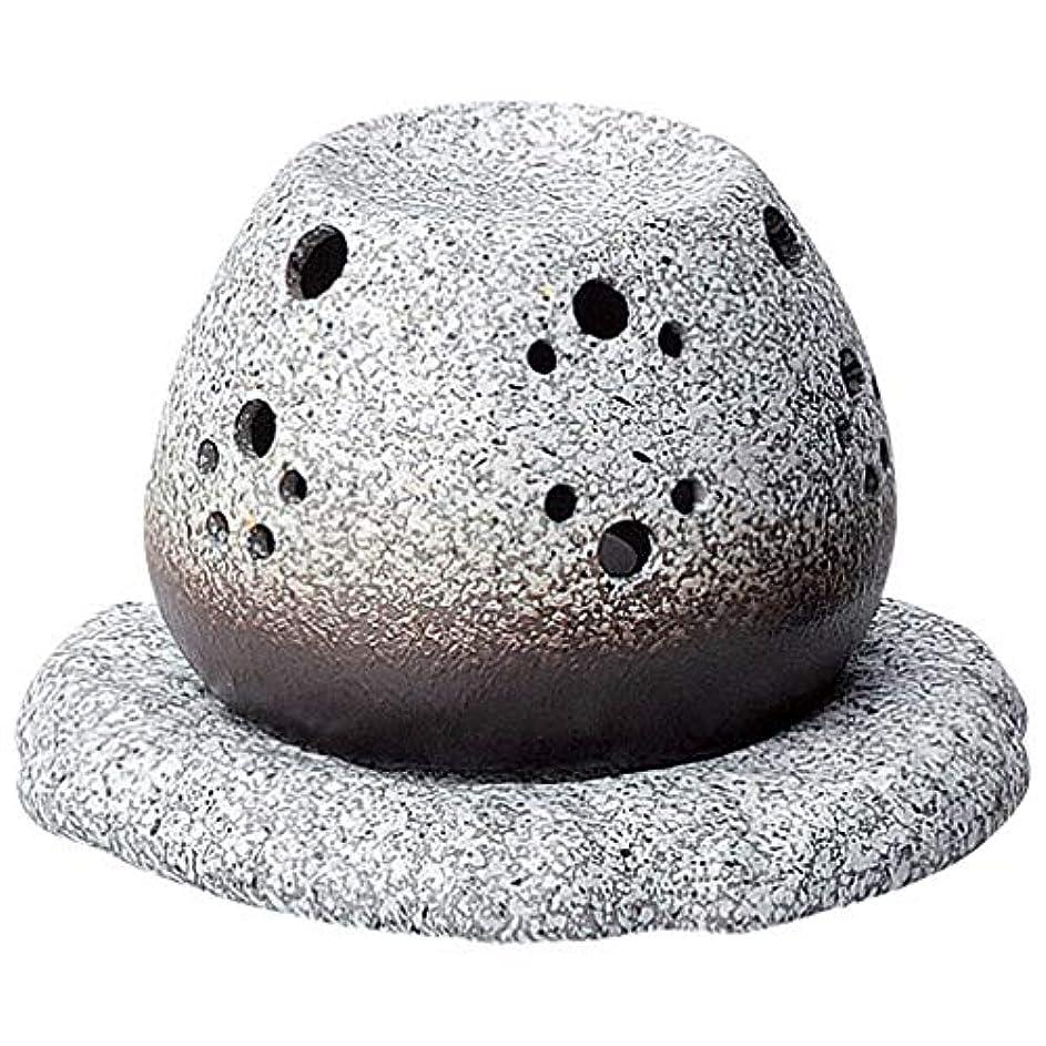 洗う便宜精通した常滑焼 G1710 茶香炉  径11.5×10.5cm