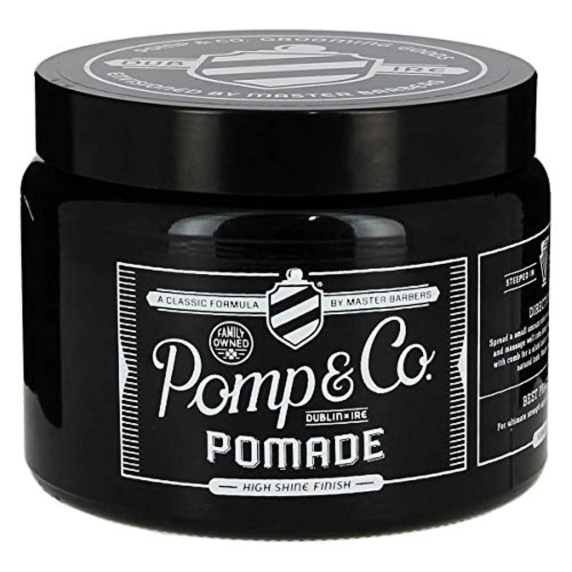仮称アシストお風呂を持っているPomp & Co ポマード16oz/ 454ml[海外直送品] [並行輸入品]