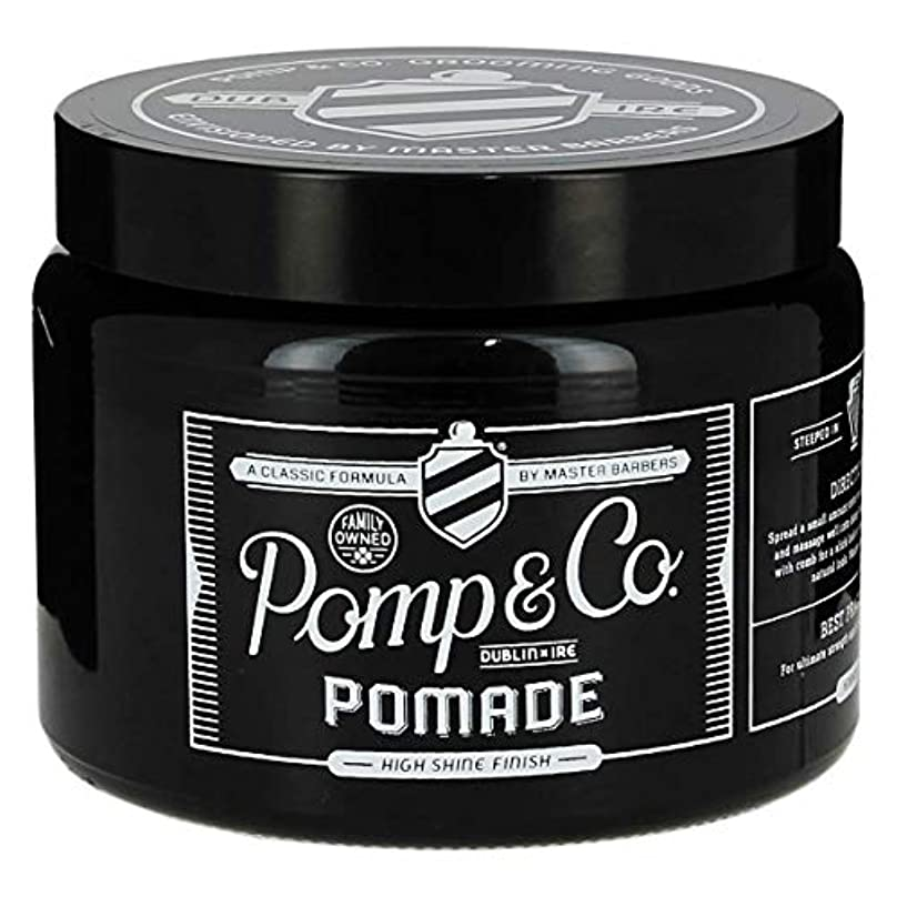 剛性古くなった誘惑するPomp & Co ポマード16oz/ 454ml[海外直送品] [並行輸入品]