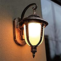 屋外の壁ライトE27最高の壁のランプ/アルミニウム/ステンレス鋼の上/マットの青銅を下で