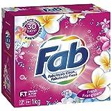 Fab Laundry Powder Frangipani, 1000g