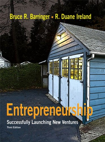Download Entrepreneurship: Successfully Launching New Ventures 0136083536