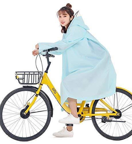 レインコート 自転車 バイク ロングポンチョ 雨具 通勤 通...