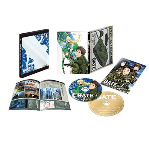「GATE 自衛隊 彼の地にて、斯く戦えり」 Vol.1<初回生産限定版> [Blu-ray+CD]