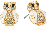 kate spade new york Star Bright Owl Stud Earrings