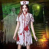 ハロウィーンロールプレイングコスプレ衣装ゴーストフェスティバルホラー血まみれの看護師医者