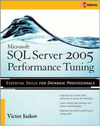 Microsoft SQL Sever Performance Tuning