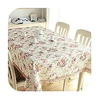 ホームキッチンダイニングテーブルクロスデコレーションテーブルクロス長方形パーティーテーブルマンテレスカバー,Color 2,90*90cm