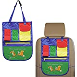 Altadis Disney (2 Pack) Winnie The Pooh Backseat Car Organizers for Kids Toy & Supplies Storage