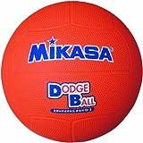 ミカサ 教育用ドッジボール1号 オレンジ小学校用 D1 O