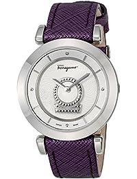 [サルヴァトーレフェラガモ]Salvatore Ferragamo 腕時計 MINUETTO シルバー文字盤 FQ4260015 レディース 【並行輸入品】