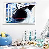 Zeroup ウォールステッカー インテリア宇宙 地球 月 星 惑星 壁紙 剥がせる 装飾 飾りつけ DIY 雑貨 小物