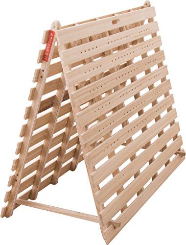 エムール 2つ折り すのこベッド 【天然の桐無垢材使用】『フランコタワー』 シングル