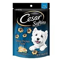 CESAR SOFTIES Grilled Chicken Flavor Dog Treats - 6.7 oz. 75 Treats by Cesar