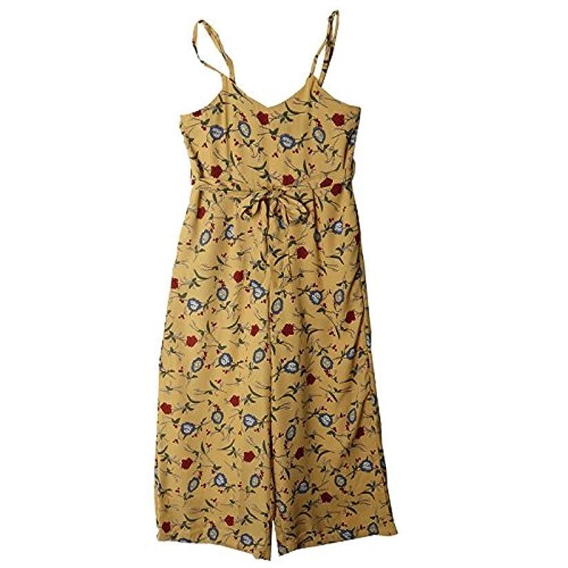ベッツィトロットウッドもっともらしい数学的なオールインワン レディース 夏 パンツ キャミソール ドット柄 花柄 ワイドパンツ