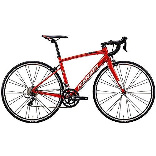 メリダ(MERIDA) ロードバイク RIDE 80 レッド/ブラック/ホワイト(ER12) AMR008508 50cm