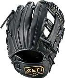 ゼット(ZETT) 少年軟式野球 グラブ グランドヒーロー オールラウンド用 右投げ用 サイズ:S(身長120~135cm向け) ブラック(1900) BJGB76120