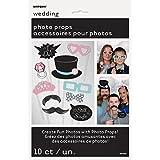 ウェディング写真ブース小道具、10ピース