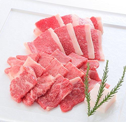 【最高級A5等級】 神戸牛霜降り・カルビ焼肉セット 400g(肩ロース200g+ブリスケ200g)2〜4人前