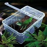 飼育容器 飼育ボックス 爬虫類・小動物用 レプタイルボックス 蜘蛛 トカゲ 百足