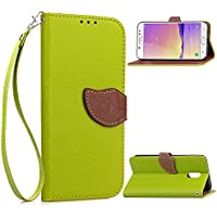 Samsung Galaxy J7 Plus 電話 シェル 保護 設計 シェル Moonmini 表面 強い シェル Moonmini スリム 轻 シェル カバー の Samsung Galaxy J7 Plus (Green)
