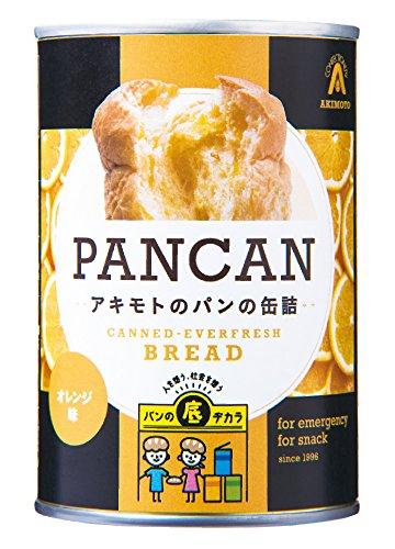 缶入りソフトパン オレンジ味 100g