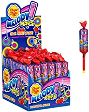 Chupa Chups Strawberry Melody Lollipops, 48 Lollipops, Unique Treat Ideal for Sharing and Parties, 48 x 15 g,