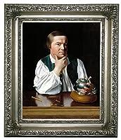 """ポールリビア1768の歴史的な芸術の肖像画 - ジョン・シングルトンコプリー額入りキャンバスプリント8""""x 10""""シルバーギャラリー"""