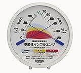 季節性インフルエンザ 感染防止目安温湿度計 TM2584