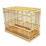竹製鳥かご(小)