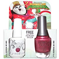 Harmony Gelish & Morgan Taylor - Two of a Kind - It's Gonna Be Mei - 0.5oz / 15ml Each