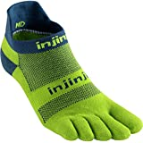 Injinji Men's Run Midweight No Show Toesocks
