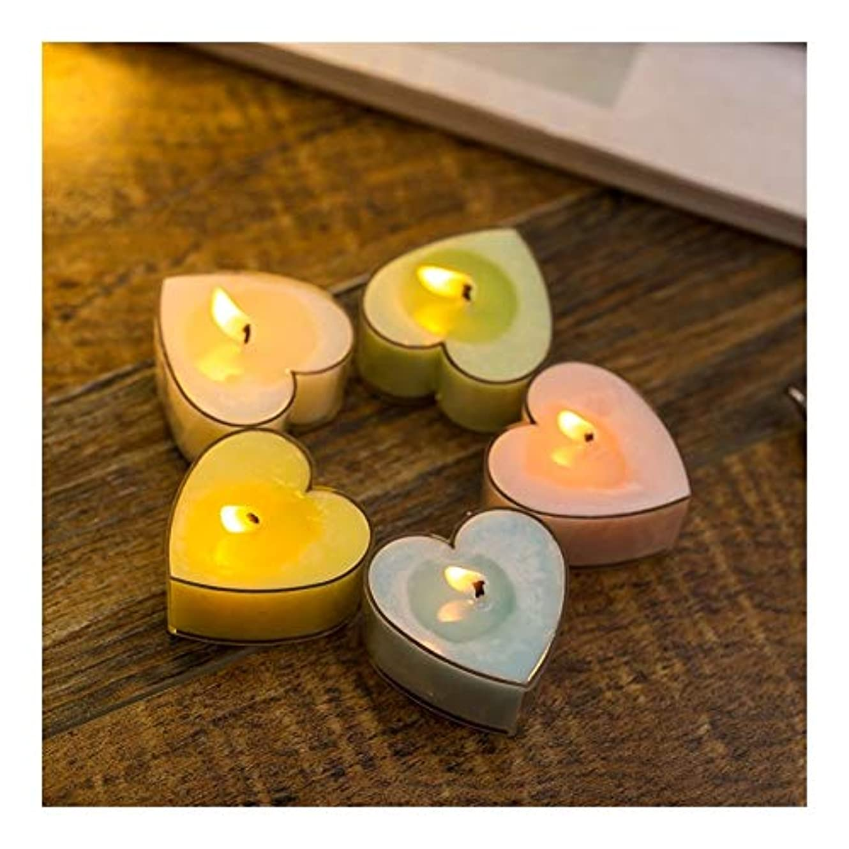 生理人質にはまってACAO 家の多彩なモモの中心の香料入りの蝋燭のカップルの悪いギフトの小さい蝋燭 (色 : Night scent)