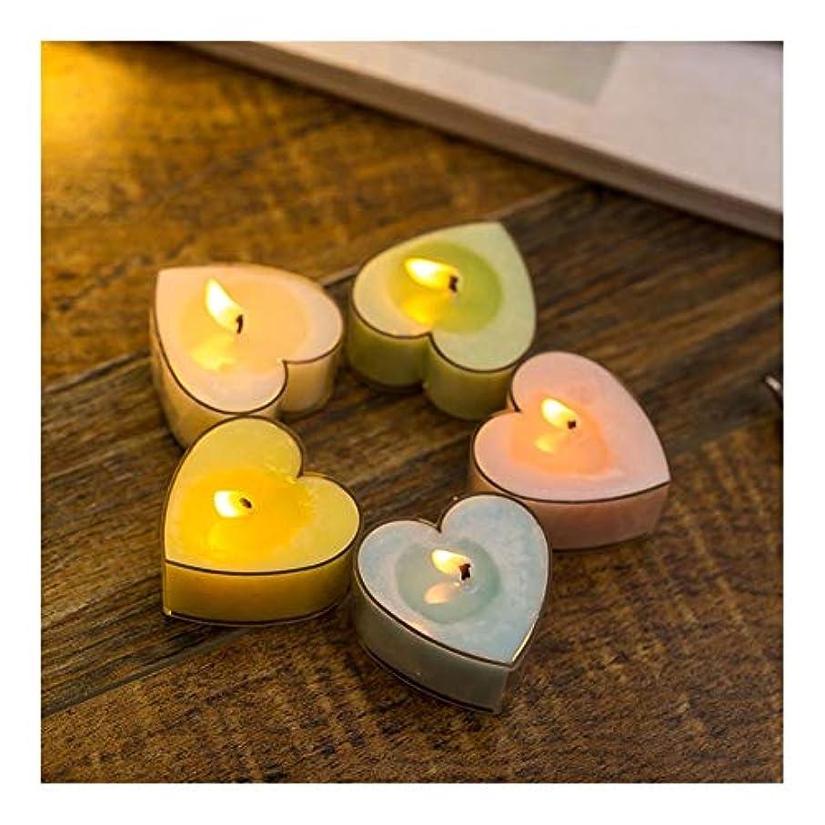 心臓ブロッサムパパGuomao 家の多彩なモモの中心の香料入りの蝋燭のカップルの悪いギフトの小さい蝋燭 (色 : Marriage)