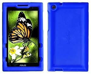 Bobj Rugged Case for ASUS ZenPad Z170C Z170CG Z170MG P01Z - BobjGear Custom Fit - Patented Venting - Sound Amplification - BobjBounces Kid Friendly (Batfish Blue) [並行輸入品]