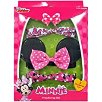 [ミニーのマウス]Minnie Mouse Hair Accessory Box Set with Assorted Headwraps MM1328 [並行輸入品]