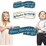 Happy Hanukkah Signs & Photo Props – Happiest Hanukkahファミリ写真小道具 – 2のセット
