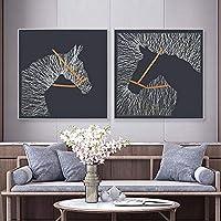 L.Z.H アートパネル 壁飾り 装飾 アートパネル アートフレーム 絵画 壁掛け 70 * 70 絵画 壁掛けキャンバス (Color : C)