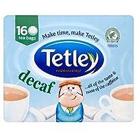 テトリーカフェイン抜きのティーバッグ1パック160 - Tetley Decaf Teabags 160 per pack [並行輸入品]