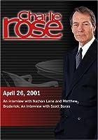 Charlie Rose with Nathan Lane & Matthew Broderick; Scott Boras (April 26 2001) [並行輸入品]