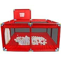 赤ちゃんの屋内の家の子供ゲームのフェンスの赤ちゃんのフェンスを撮影する50ボールの幼児をフェンスのボールプールをクロール送信