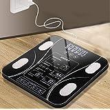 [リズム時代]体重計ランキング 体重体組成計 体脂肪計 bluetooth体重計 スマホ対応 ボディスケール 高精度スマートスケール 体重/BMI/脂肪率/筋肉/水比記録/内蔵脂肪/骨量/基礎代謝測定可能 iOS/Androidアプリで健康管理