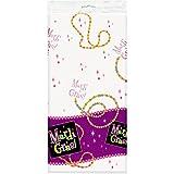 Mardi Gras Beads - Plastic Tablecover マルディグラのビーズ-プラスチックTablecover?ハロウィン?クリスマス?