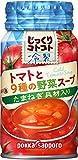 ポッカサッポロ じっくりコトコト 冷製トマトと9種の野菜スープ 170g ×30本