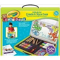 Crayola Mini Kids - 81-8114-E-000 - Loisir Créatif - Ma Première Mallette de Coloriage [並行輸入品]