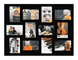 Kiera Grace木製Napaコラージュ画像フレーム、ブラック 18-Inch by 24-Inch ブラック PH00100-9FF