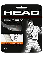 ヘッド(HEAD) テニスガット ソニック プロ(SONIC PRO)ホワイト 1.30 単張りガット 281028 0 0